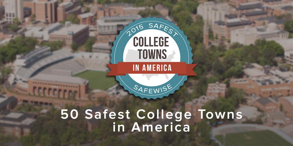 Safest College Towns